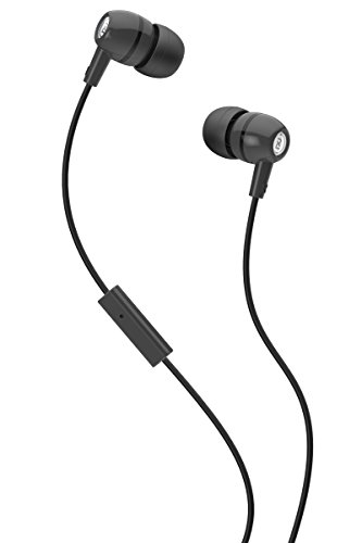 2XL Spoke In-Ear Headphone with Ambient Chatter Reduction and Hands-Free Mic (Black) - Spoke Head