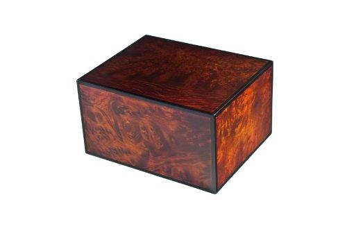 Chateau Urns, Montreaux Wood Urn, Adult Cremation Urn, Large Wood urn