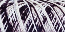 Bulk Buy: Aunt Lydia's Crochet Cotton Classic Crochet Thread Size 10 (3-Pack) Zebra 154-932 (Thread 300 Zebra)