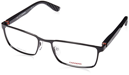 Carrera 8809 Eyeglass Frames CA8809-00RF-5619 - Dark Ruthenium  Matte Black Frame Distance