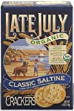 Late July Snacks Organic Round Saltine Crackers -- 6 oz - 2 pc