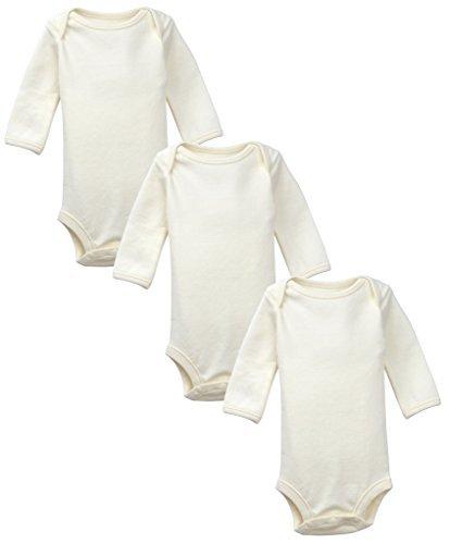 DorDor & GorGor Unisex Baby 3 Pack Organic Onesies (18M, (Organic Onesies)
