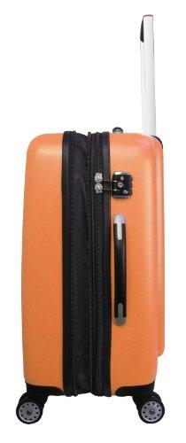 Heys - Core Quad Orange Trolley mit 4 Rollen Medium