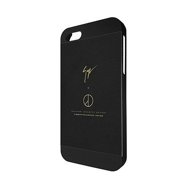 Guiseppe Zanotti Brand Logo Cover For Iphone 55s Luxury Brand