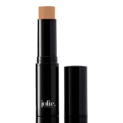 - Jolie Cosmetics Creme Foundation Stick Full Coverage Makeup Base (Honey Beige)