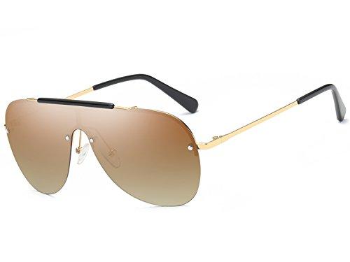 Bevi Polarized Cat Eye Metal Sunglasses - Aviator Sunglasses On Tv As Seen Hd