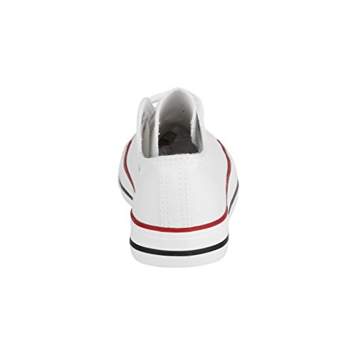 Hombre White Zapatillas Basic Nummer Fällt Boots para Aus Eine Best Größer wxRpnt