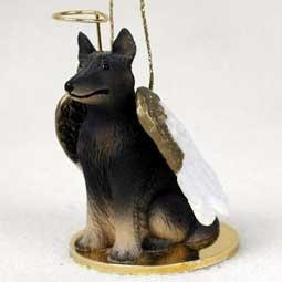 Belgian Tervuren Tiny Ones Dog Angels (2 in) Belgian Tervuren Dog Figurine