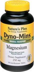 Nature's Plus Dyno-Mins Magnesium -- 250 mg - 90 Tablets