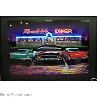 Roadside Diner Neon LED Art Picture by Neonetics