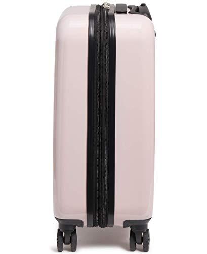 Karl Lagerfeld Paris Blush Kat Expandable Hardside Spinner Luggage, 20 Inch