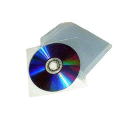 53 opinioni per 100 BUSTINE CD DVD IN PVC TRASPARENTI CON ALETTA BULKPAQ