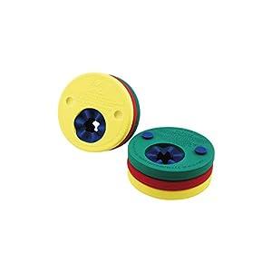 Delphin – Manguitos para aprender a nadar gradualmente, color rojo / amarillo / verde