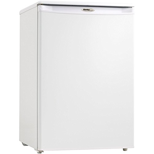 Danby DUFM043A1WDD 4.3 Cubic Feet Upright Freezer, White