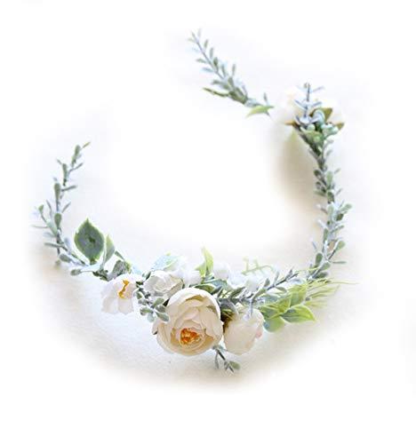 - FIDDY898 Floral Crown Green Vine Bridal Accessories Wedding Crown (Headpiece)