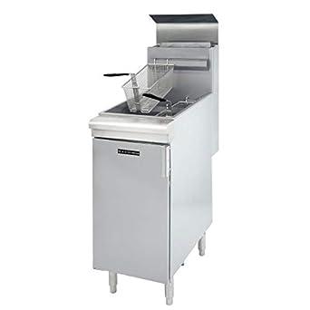 Amazon.com: Restaurante serie 40 pound piso LPG freidora ...
