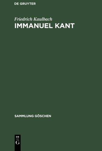 Sammlung Göschen, Nr. 2221: Immanuel Kant