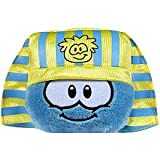 Disney Club Penguin 4 Inch Series 10 Plush Puffle Blue with Pharaoh Headress Includes Coin with Code!