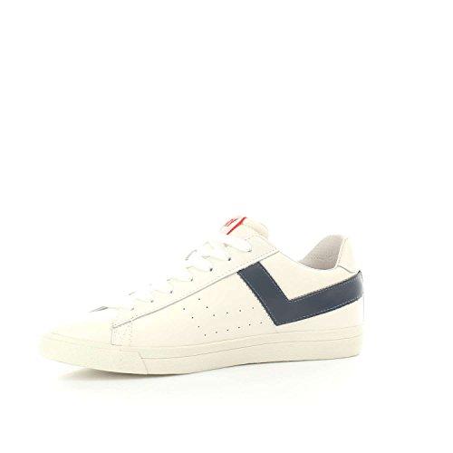 Pony Top Blu Star 634A Sneakers Ox Bianco Uomo r7xqrpgw1