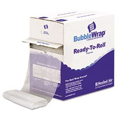* Bubble Wrap® Cushion Bubble Roll, 1/2'' Thick, 12'' x 65ft