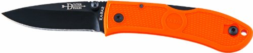 KA-BAR Dozier Folding small Hunter in blaze orange, Outdoor Stuffs
