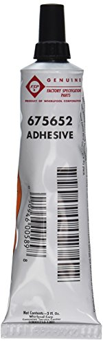 Price comparison product image Whirlpool 675652 Silicone Adhesive for Use with Dishwasher Racks