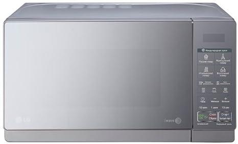 LG MH6043HAR Encimera - Microondas (Encimera, Microondas con grill, 20 L, 700 W, Tocar, Espejo, Plata)