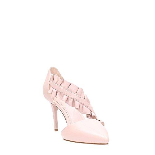 Donna Mod arricciata Kors in Bella Michael Decolletè 40R8BLMS1L Pelle Pink Michael SnwBx6qS80