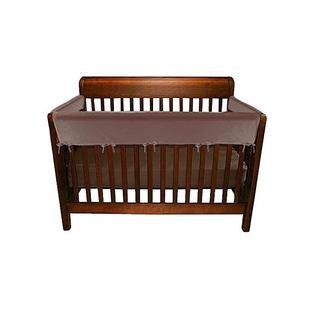 Jolly Jumper 3 Piece Soft Rail for Convertible Cribs (Brown) by Jolly Jumper