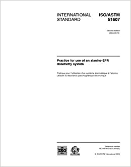 Buy ISO/ASTM 51607:2004, Practice for use of the alanine-EPR
