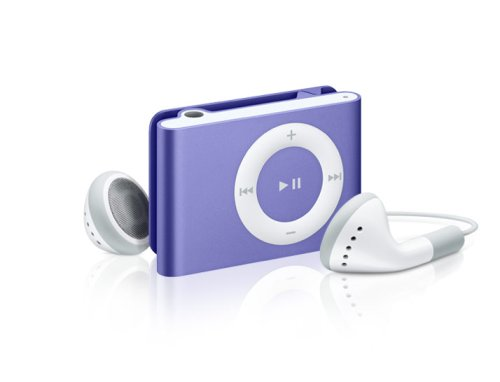 Apple iPod shuffle 1 GB Purple (2nd Generation)  (Discontinued by Manufacturer)