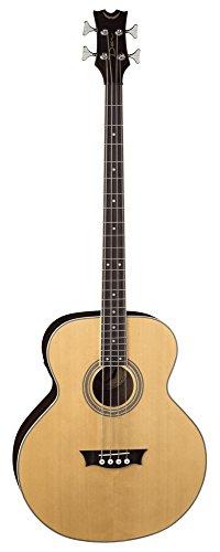 Dean EAB Acoustic-Electric Bass Guitar – Natural