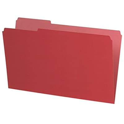 Pendaflex Pendaflex Interior File Folders, 1/3 Cut, Top Tab, Legal, 100/Box