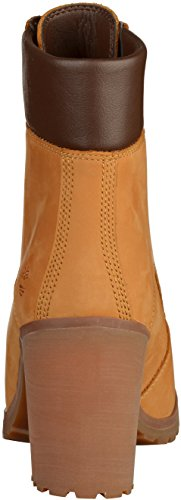 Timberland 6 Lace Up Boot Wheat Nubuck CA1HLS, Boots Gelb(Golden Tan)