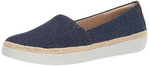 Trotters Women's Accent Penny Loafer, Blue Jeans,