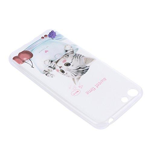 Lusee® Funda de silicona para Elephone ELE S7 5.5 pulgada Suave Cascara TPU dulce momento