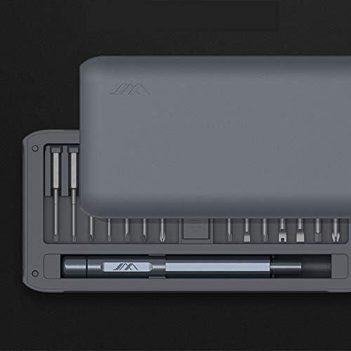 Benkeg 30 in 1多機能高精度ドライバーキットDIY修理ツールピンセットとアルミ合金ハンドル付きドライバーセット