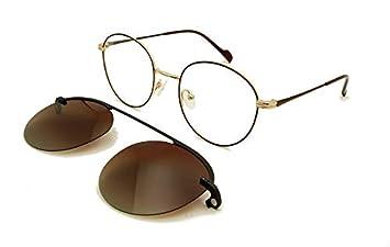 LKVNHP Marcos magnéticos para Gafas con Clip en Gafas de Sol ...