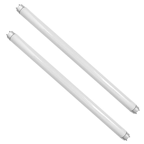 Flanor Bug Zapper Replacement UV Lamp Bulb Light Tube 10 Watt for 20 Watt Bug Zapper Insect(Replacement Bulbs(2 pcs))