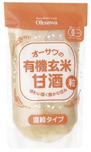 Osawa organic brown rice sweet sake (grain) concentrated type 250g