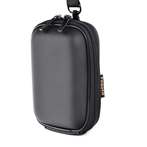 Snug Fit Black Camera Case Canon PowerShot ELPH 180 190 is 360 HS SX620 A2300 IXUS 285 180 G9X Mark II,Sony Cyber-Shot DSC-W830 WX220 W810 HX80/B HX90,Nikon Coolpix A10 S7000 W100