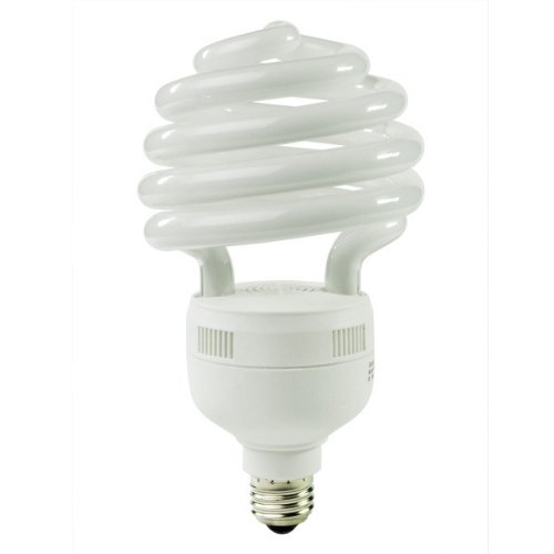 Energy Miser FE-US-55W-50K - 55 Watt CFL Light Bulb - Compact Fluorescent - - 250 W Equal - 5000K Full Spectrum - 80 CRI - 65 Lumens per Watt - 12 Month Warranty (55w Cfl)