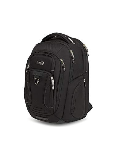 (High Sierra Endeavor Business Elite Backpack - 17-inch Laptop Backpack for Business Professionals, Black)