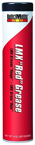 Lubrimatic 11390 1 Pack LMX 'Red' High-Performance Grease, 14 oz. Cartridge ()