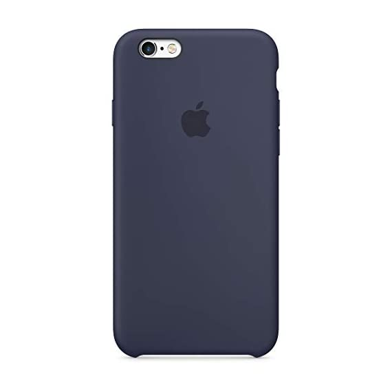 apple silicone case (for iphone 6s) - midnight blue - 317rPHLjG 2BL - Apple Silicone Case (for iPhone 6s) – Midnight Blue