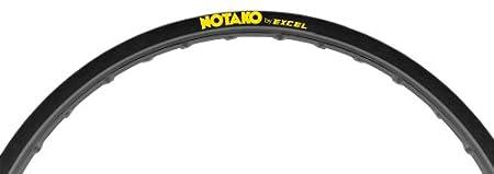 Excel GDKN11 Black 19' x 1.85' 32-Hole Notako Motorcycle Rim
