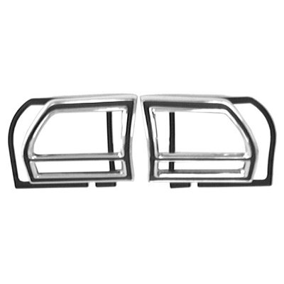 Goodmark Tail Light Bezel Without Gaskets for 1969 Chevy Chevelle