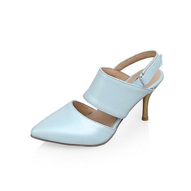 High Heels Donna zehe Pumps Heels tacchi Stiletto cirior donne pelle Blu High punta in aq5xExwpnz