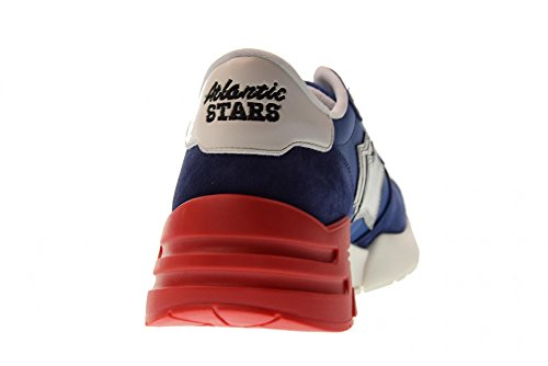 Atlantic Stars Scarpe Uomo Sneakers Basse Mars Bm-sn01 Blue Blu