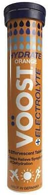 Voost Hydrate Orange Effervescent Tablets 20 Pack